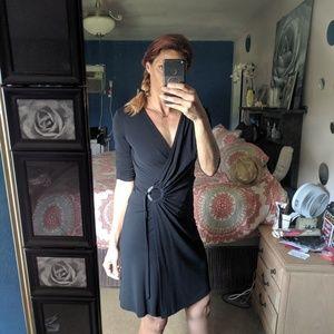 Vintage express wrap dress